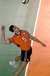 28-07-2000 FRA: Olympisch Kwalificatie Toernooi Nederland - Frankrijk, Castelnau Le Lez<br /> Nederland wint in een beladen duel van Frankrijk en plaatst zich voor de Olympische Spelen in Sydney / Guido Gortzen