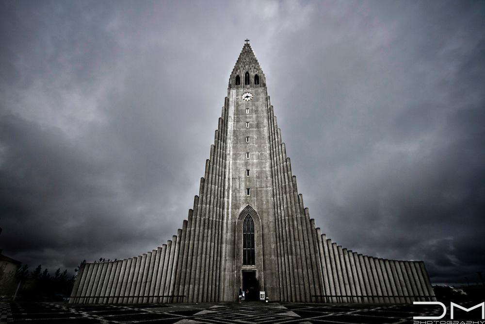 Cathedral in Reykjavik, Iceland