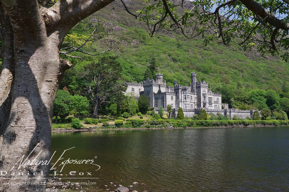 Kylemore Castle, in Connemara, County Galway, Ireland