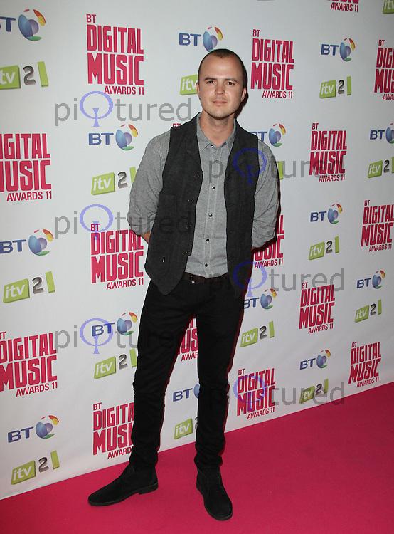 Darren Jeffries BT Digital Music Awards, Roundhouse, Camden, London, UK. 29 September 2011 Contact: Rich@Piqtured.com +44(0)7941 079620 (Picture by Richard Goldschmidt)