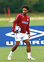 Glen Johnson.( England and Portsmouth ). England Training at The London Colney. 2nd Sept 2008. <br /> Credit  Kieran Galvin