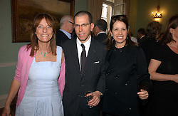 Left to right, LADY ROGERS and MR & MRS JONATHAN NEWHOUSE at a party to celebrate the publication of 'A Much Married Man' by Nicholas Coleridge held at the ESU, Dartmouth House,  37 Charles Street, London W1 on 4th May 2006.<br />