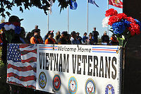 The Veterans Day ceremony on Wednesday at the Monterey County Vietnam Veterans Memorial in Salinas.