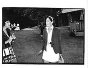 Pegger Siegal at Ben Bradlee's book party. East Hampton. 36 Aug. 1995© Copyright Photograph by Dafydd Jones 66 Stockwell Park Rd. London SW9 0DA Tel 020 7733 0108 www.dafjones.com