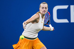 September 1, 2018 - Flushing Meadow, NY, U.S. - FLUSHING MEADOW, NY - SEPTEMBER 01: PETRA KVITOVA (CZE) day six of the 2018 US Open on September 01, 2018, at Billie Jean King National Tennis Center in Flushing Meadow, NY. (Photo by Chaz Niell/Icon Sportswire) (Credit Image: © Chaz Niell/Icon SMI via ZUMA Press)