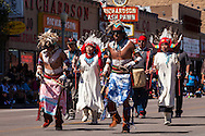 Gallup, Intertribal Ceremonial Parade, New Mexcio, Route 66, Hopi dancers