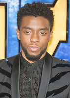 Chadwick Boseman at the Black Panther European Premiere at the Eventim Apollo, Hammersmith, London