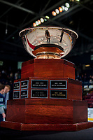 KELOWNA, CANADA - APRIL 30: The Western conference cup on April 30, 2017 at Prospera Place in Kelowna, British Columbia, Canada.  (Photo by Marissa Baecker/Shoot the Breeze)  *** Local Caption ***