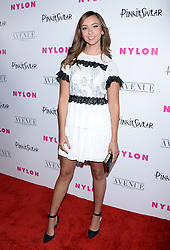 NYLON Young Hollywood Party 2018. 22 May 2018 Pictured: Britt Baron. Photo credit: TPG/MEGA TheMegaAgency.com +1 888 505 6342