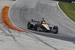June 22, 2018 - Elkhart Lake, Wisconsin, United States of America - JAMES HINCHCLIFFE (5) of Canada takes to the track to practice for the KOHLER Grand Prix at Road America in Elkhart Lake, Wisconsin. (Credit Image: © Justin R. Noe Asp Inc/ASP via ZUMA Wire)
