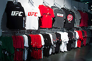 LAS VEGAS, NV - JULY 9:  UFC gear available for purchase during the UFC Fan Expo at the Las Vegas Convention Center on July 9, 2016 in Las Vegas, Nevada. (Photo by Cooper Neill/Zuffa LLC/Zuffa LLC via Getty Images) *** Local Caption ***