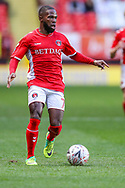 Charlton Athletic midfielder Mark Marshall (7) during the The FA Cup 2nd round match between Charlton Athletic and Doncaster Rovers at The Valley, London, England on 1 December 2018. Photo by Toyin Oshodi