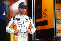 November 16, 2018 - Homestead, Florida, U.S. - Daniel Suarez (19) takes to the track to practice for the Ford 400 at Homestead-Miami Speedway in Homestead, Florida. (Credit Image: © Justin R. Noe Asp Inc/ASP)