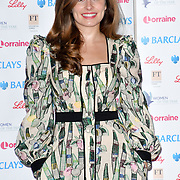 Rachel Shenton attends Women of the Year Lunch and Awards at Intercontinental Hotel Park Lane, London, UK. 15 October 2018.