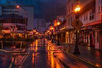 Franklin Street, Rainy Morning