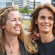 NLD/Amsterdam/20150530 - Amsterdamdiner 2015, Willemijn Verloop en .............