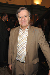 TONY BLACKBURN at the 2008 Oldie of The year Awards and lunch held at Simpsons in The Strand, London on 11th March 2008.<br />