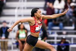 USATF Indoor Track and Field Championships<br /> held at Ocean Breeze Athletic Complex in Staten Island, New York on February 22-24, 2019; Kenturah Orji, Mizuno, Atlanta Track Club, wins triple jump