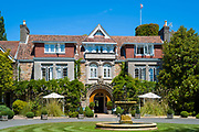 Longueville Manor Hotel, one of the most popular luxury Jersey hotels, St Helier, Channel Isles