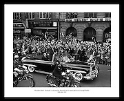 This fantastic shot of John F. Kennedy traveling through Dublin is the perfect gift idea for someone who is interested in former US presidents or politics.
