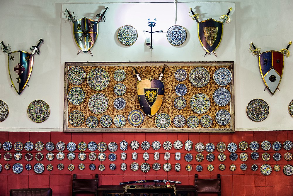 Medeivil armored souvenirs, Toledo, Spain