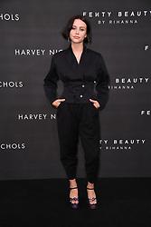 Billie JD Porter arriving at the Fenty Beauty By Rihanna Party, Harvey Nichols, Knightsbridge, London