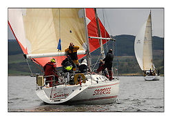 Brewin Dolphin Scottish Series 2010, Tarbert Loch Fyne - Yachting..Day one stated late but resulted in good conditions on Loch Fyne..GBR4754 , Sunrise , S.& N. Chalmers  , CCC , Sigma 400...