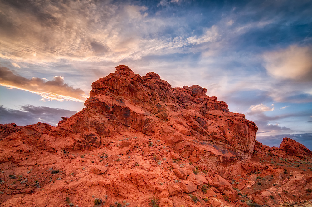The Valley of Fire in Southern Nevada is home to some of the most spectacular rock formations in the United States.