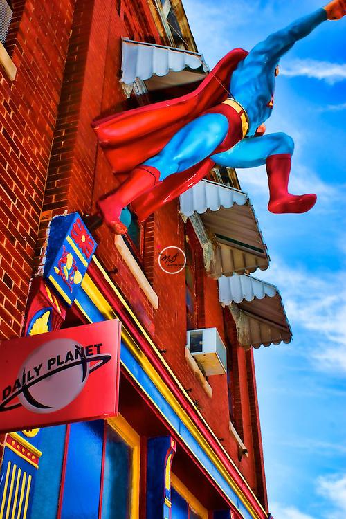 Superman at Daily Planet (Metropolis Museum)