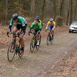 23-03-2019: Wielrennen: Drentse Dorpenomloop: Assen<br />-wielrennen - Assen - Drenthe - KNWU<br />Gerben Oldenkamp, Peter Merkx, Rick van Breda, Jesse de Rooij