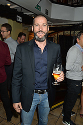 FRED SIRIEIX at a party hosted by Fred Sirieix, Maître d' on Channel 4's 'First Dates' at his favourite Spanish restaurant, El Pirata, 5-6 Down Street, London to celebrate the publication of his new book 'First Dates: The Art of Love' on 10th October 2016.