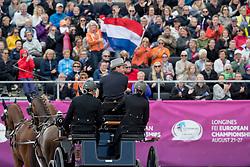 De Ronde Koos, NED, Alino, Cupido, Palero, Ulano, Zimon<br /> FEI European Driving Championships - Goteborg 2017 <br /> © Hippo Foto - Dirk Caremans