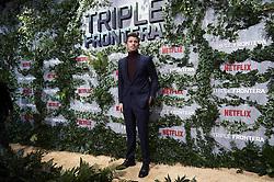 March 6, 2019 - Madrid, Spain - American actor Garrett Hedlund attends the premiere of 'Triple Frontera' of Netflix in Madrid, Spain. March 06, 2019. (Credit Image: © Borjab.Hojas/NurPhoto via ZUMA Press)