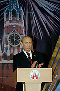 Moscow, Russia, 09/05/2005..Formal reception in the Kremlin hosted by Russian President Vladimir Putin and wife Ludmilla on the 60th anniversary of victory in the Great Patriotic War. .