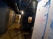 Corridors at the Honecker Bunker in Prenden.