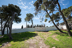 28 February 2020, Jerusalem: Construction site in preparation on the Augusta Victoria Hospital campus on the Mount of Olives.