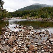 The upper reaches of the Saco River, just below Crawford Notch, in the White Mountain National Forest, New Hampshire, USA