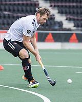 AMSTELVEEN - Mirco Pruyser (Amsterdam) )    tijdens   hoofdklasse hockeywedstrijd mannen,  AMSTERDAM-PINOKE (1-3) , die vanwege het heersende coronavirus zonder toeschouwers werd gespeeld. COPYRIGHT KOEN SUYK
