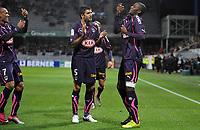 FOOTBALL - FRENCH CHAMPIONSHIP 2010/2011 - L1 - AJ AUXERRE v GIRONDINS BORDEAUX - 16/10/2010 - PHOTO GUY JEFFROY / DPPI - JOY ANTHONY MODESTE (BOR)