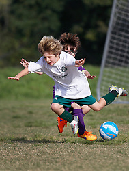 15 November 2015. New Orleans, Louisiana.<br /> New Orleans Jesters Youth Academy play Slidell.<br /> U9 Purple vs U10 Bayou Thunder White. Jesters emerge victorious.<br /> Photo©; Charlie Varley/varleypix.com