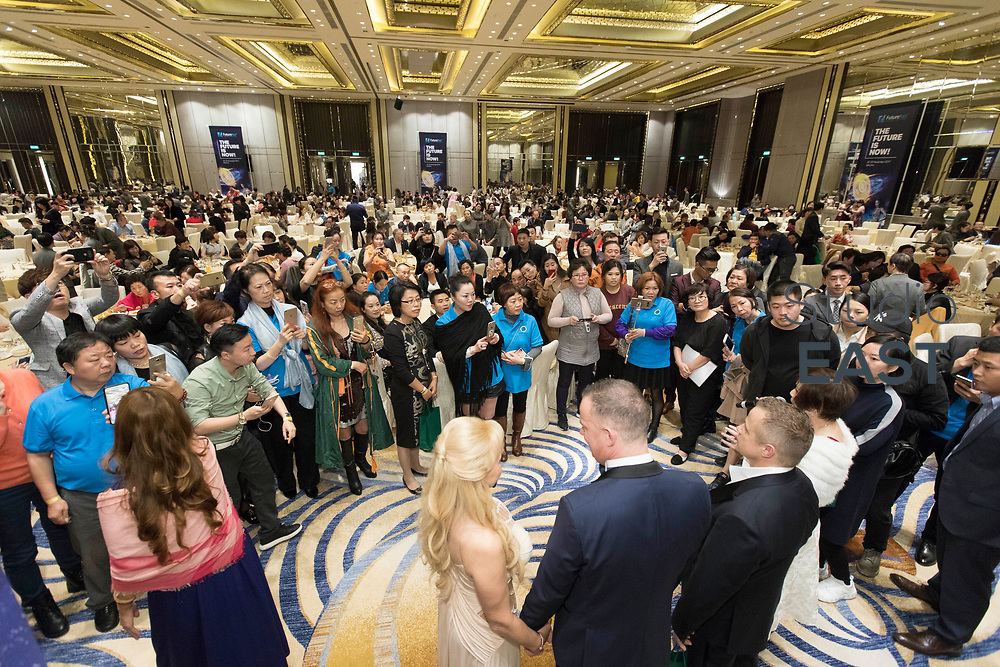 VIP dinner during the FutureNet World Convention in Studio City Event Center, Macau, China, on 8 November 2017. Photo by King Chung Fung/Studio EAST