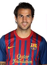 24.08.2011, Barcelona, ESP, FC Barcelona Fotocall, im Bild Portrait von Cesc Fabregas, EXPA Pictures © 2011, PhotoCredit: EXPA/ Alterphotos/ ALFAQUI/ Gregorio