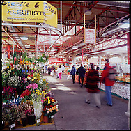 The Jean Talon market (Marché Jean Talon) is and open air market open year round populated by over 300 vendors selling mostly food items.