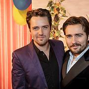 NLD/Amsterdam/20150201 - Premiere Heerlijk duurt het Langst, Job Bovelander (L)