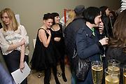 BLISS STAPLE; CHERISH KAYA; OPENING OF 'THE CONVENIENCE STORE' AT ST. MARTIN'S LANE HOTEL. London. 19 March 2009