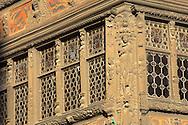 Strasburg - France - Medieval leaded window