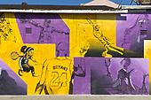 NBA-Kobe Bryant Mural-Aug 26, 2020