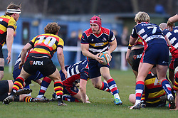 Nick Fenton-Wells of Bristol Rugby - Mandatory by-line: Dougie Allward/JMP - 30/12/2017 - RUGBY - The Athletic Ground - Richmond, England - Richmond v Bristol Rugby - Greene King IPA Championship