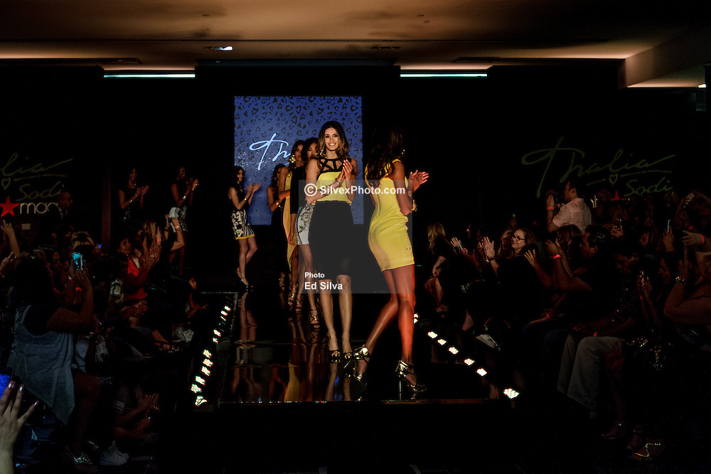 RANCHO CUCAMONGA, CA - MARCH 28: Models walk the runway during the launch of the Thalia Sodi Collection at Macy's Victoria Gardens in Rancho Cucamonga, California. 2015 Mar 28. Byline, credit, TV usage, web usage or linkback must read SILVEXPHOTO.COM. Failure to byline correctly will incur double the agreed fee. Tel: +1 714 504 6870.