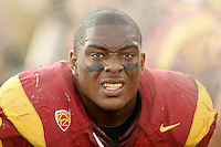 September 17, 2011: #42 Devon Kennard  during the NCAA College football game for the Big East Syracuse Orange visiting the Pac-12 USC Trojans for the first time since 1924 inside the Los Angeles Memorial Coliseum.